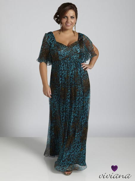 Dynasty Viviana Plus Size Dresses, Spring-Summer 2012