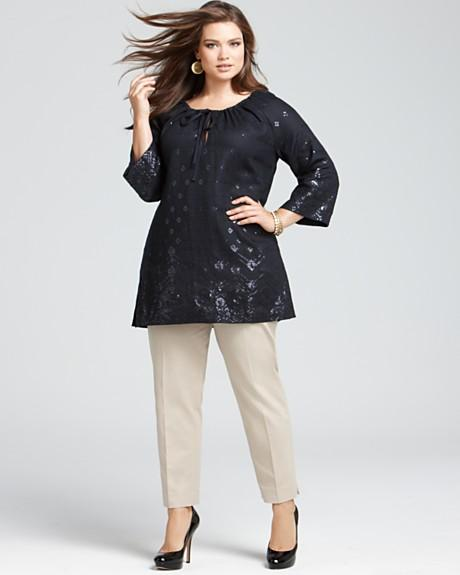 Lafayette 148 Plus Size Collection, Spring-summer 2012