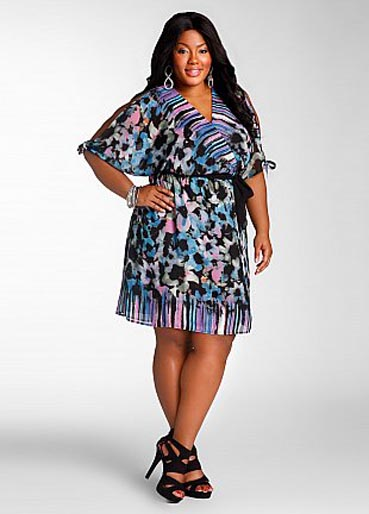 Ashley Stewart Plus Size Dresses, Spring-Summer 2012