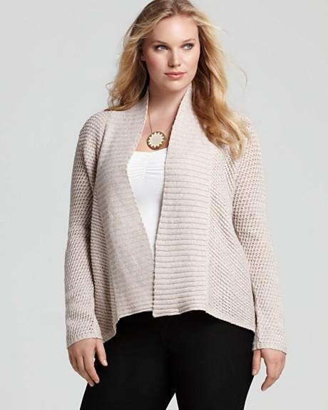 Eileen Fisher Plus Size Collection, Spring-summer 2012