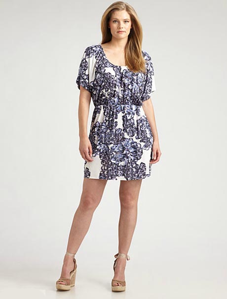 T-Bags Plus Size Dresses, Spring-Summer 2012