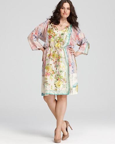 Johnny Was Plus Size Collection, Spring-summer 2012