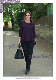 British Plus Size Lookbooks Chesca. Fall-Winter, 2015