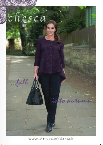 British Plus Size Lookbook Chesca. Fall-Winter, 2015 (Part 2)