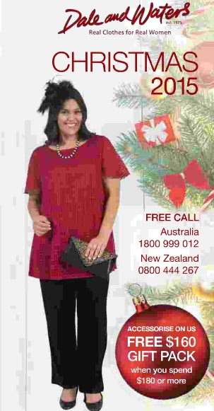 Australian Plus Size Christmas Catalog Dale and Waters. Winter, 2015-2016