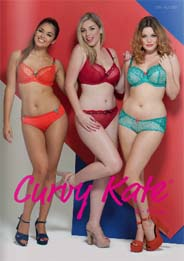 British Plus Size Lingerie & Swim Сatalog Curvy Kate. Summer-fall, 2015