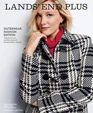 american plus size catalog lands' end. winter 2015 | american plus