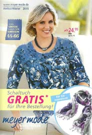 German Plus Size Catalog Meyer Mode. Autumn-winter, 2015-2016