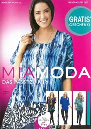 German Plus Size Catalog Mia Moda. Autumn-winter, 2015-2016