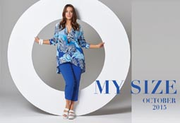 Australian Plus Size lookbooks My Size. September-October 2015