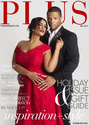 Holiday Issue Plus Model Magazine. December, 2015
