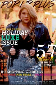 American Plus Size Magazine Pop Up Plus. Holiday, 2016