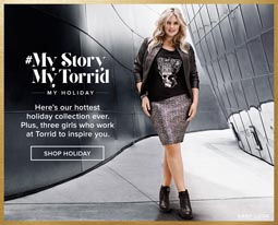 American Plus Size Lookbooks Torrid. Fall-Winter, 2015-2016