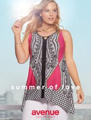 Plus Size Catalogues by American Brand Avenue, Summer 2016