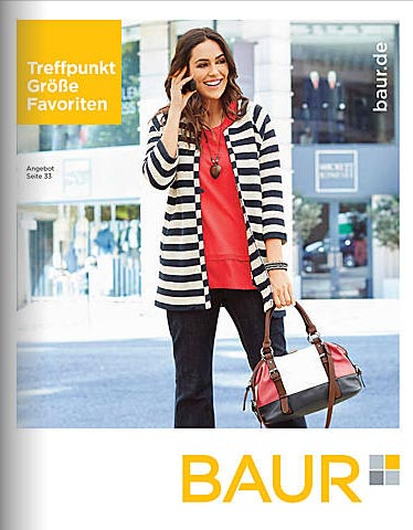 German Plus Size Catalog Baur Treffpunkt Größe Favoriten Spring-Summer, 2016
