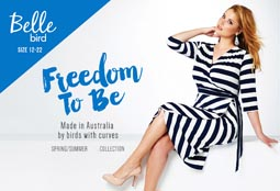 Plus Size Lookbook Belle Bird by Australian Brand Birdsnest s/s 2016