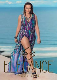 Plus Size Catalogues by Brazilian brand Elegance. Spring-Summer 2016