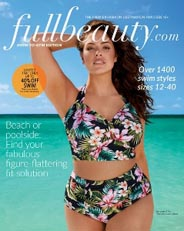 Plus Size Catalogue of Bathing Suits by American Brand FullBeauty, Summer 2016