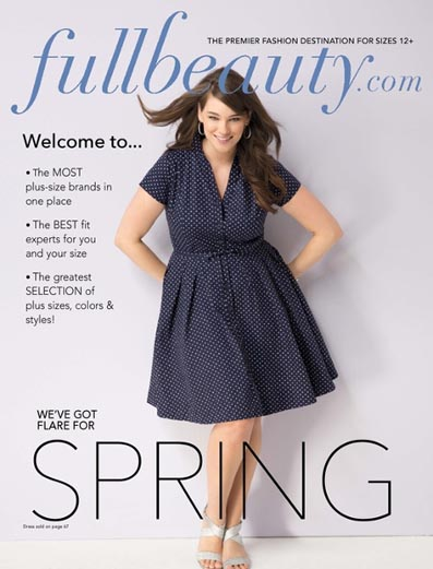 American Plus Size Catalog Fullbeauty. Spring, 2016