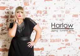Plus Size Lookbook by Australian Brand Harlow Spring-Simmer, 2016