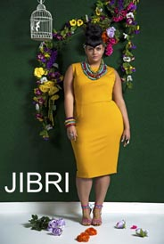 Plus Size Catalog by American Brand Jibri, Spring-Summer 2016