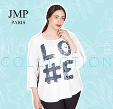 Plus Size Lookbook by French Brand Jean Marc Philippe, Spring 2016