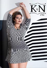 Plus Size Catalogues by Brazilian Brand K&N, Spring-Summer 2016