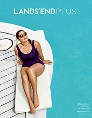 Plus Size Catalogue by American Brand Lands' End, Summer 2016
