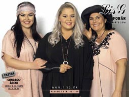 Plus Size Catalog by Danish Brand Lis G, Spring 2016