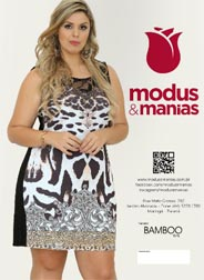 Plus Size Catalog by Brazilian Brand Modus & Manias, Spring-Summer 2016