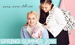 Plus Size Lookbooks by British Brand One One Three, Spring-Summer 2016