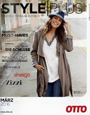 German Plus Size Catalog OTTO Style Plus, Spring-Summer, 2016