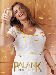 Plus Size Lookbooks by Brazilian Brand Palank, Spring-Summer 2016
