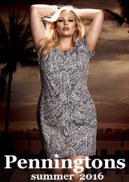 Plus Size Lookbook by Canadian Brand Penningtons, Summer 2016