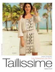 Plus Size Catalog Taillissime by French Brand La Redoute, May 2016