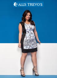 Plus Size Catalogs by Brazilian Brand All's Trevo's, Spring-Summer 2016