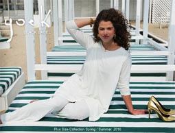Netherlands Plus Size Lookbooks Yoek. Spring-Summer, 2016