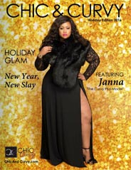 Plus Size Holiday Lookbook by American Brand Chic and Curvy, 2016