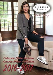 Plus Size Catalog by Spanish Brand Carisal Fashion, Autumn-Winter 2016-2017