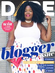 Canadian Plus Size Magazine Dare, Spring-Summer 2017