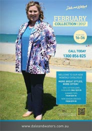 Plus Size Catalogue by Australian Brand Dale and Waters, February 2017