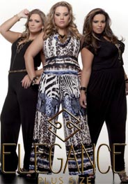 Plus Size Catalog by Brazilian Brand Elegance, Spring-Summer 2017