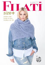 Plus Size Catalog of Knitted Clothes by Austrian company Filati, Autumn-Winter 2016-17