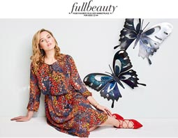 Plus Size Lookbook by American Brand Fullbeauty, Spring 2017
