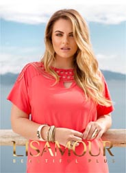 Plus Size Catalogue by Brazilian Brand Lisamour, Spring-Summer 2017