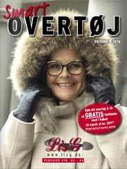 Plus Size Catalog of Outerwear by Danish Brand Lis G, Fall-Winter 2016-2017