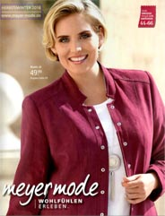 Plus Size Catalog by German Brand Meyer Mode, Autumn-Winter 2016-2017