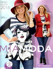 Plus Size Catalog by German Brand Mia Moda, Autumn-Winter 2016-2017