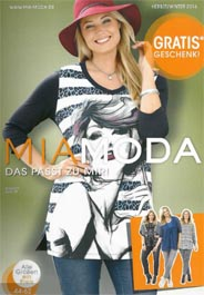 Plus Size Catalogue by German Brand Mia Moda, Fall-Winter 2016-2017
