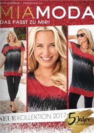 Plus Size Catalogue by German Brand Mia Moda, Spring-Summer 2017